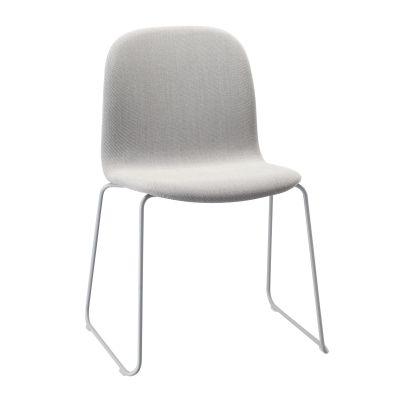 Visu Chair Sled Base Upholstered