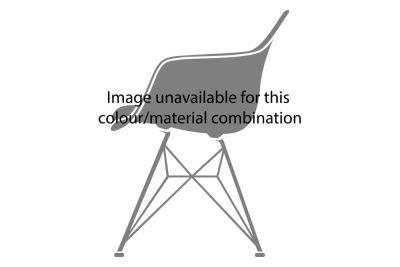 Vitra Eames Plastic Armchair DAR 30 Basic dark powder-coated, 30 Cream, 15 Felt glides white for hard floor