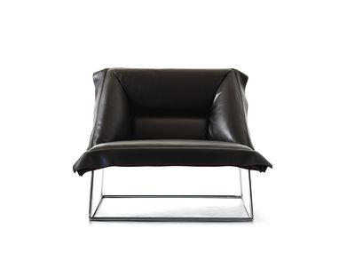 Volant Armchair Demi B0211 - Leather Oil cirè
