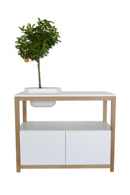 Volcane Buffet Cabinet White