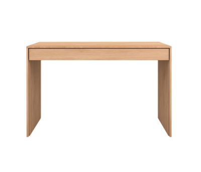 Wave Console Table Oak