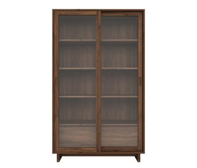 Wave Storage Cupboard Walnut