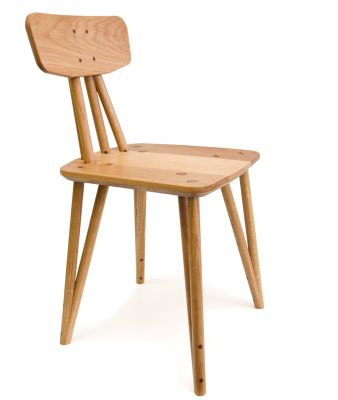 WCO Chair Wedged Chair in Oak