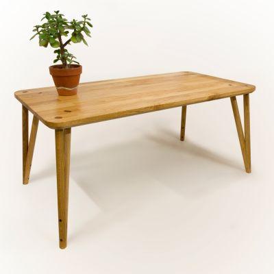Wedged Table in Oak