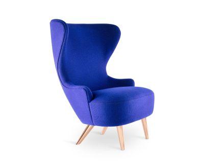 Wingback Micro Chair Hallingdal 65 100, Black Oak