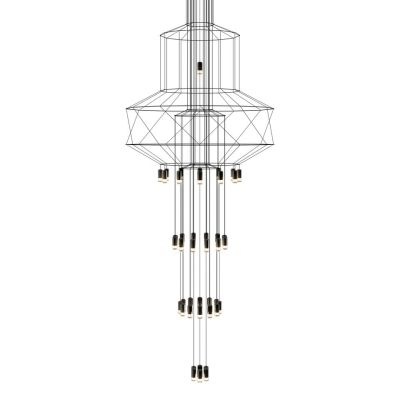 Wireflow Chandelier - 43 Leds 396cm