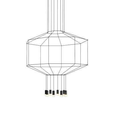 Wireflow Chandelier - 8 LEDs Non-included, 55cm