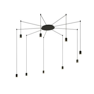 Wireflow Free Form Pendant Light - 9 LEDs Non-included