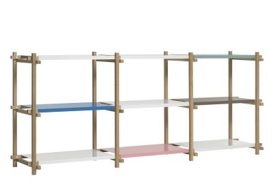 Woody Shelving System Nature, Multi Colour, Low