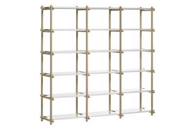 Woody Shelving System Nature, Multi Colour, High