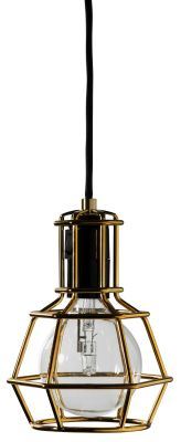 Work Lamp - set of 4 Gold
