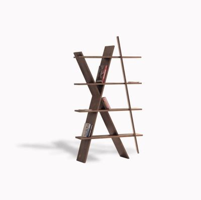 XI Bookshelf Walnut Natural
