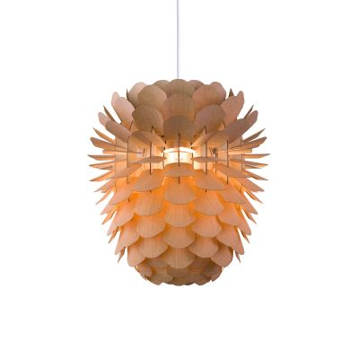Zappy 'Small' Pendant light Oak