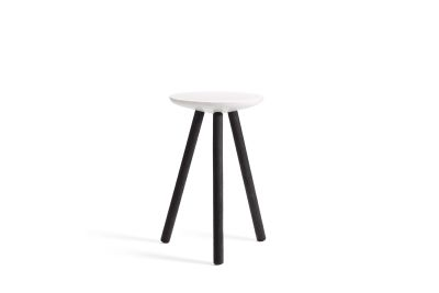 SPA side table charred legs