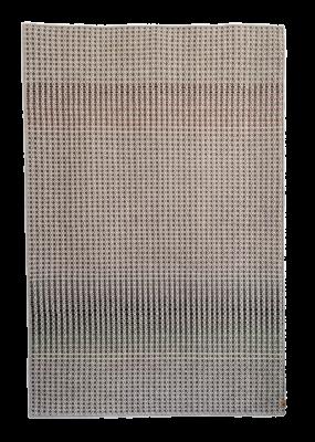 TONK - light grey hand woven rug 120 x 180cm
