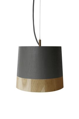 KIKKE & HEBBE Boost Pendant Lamp Wood  Mist Grey