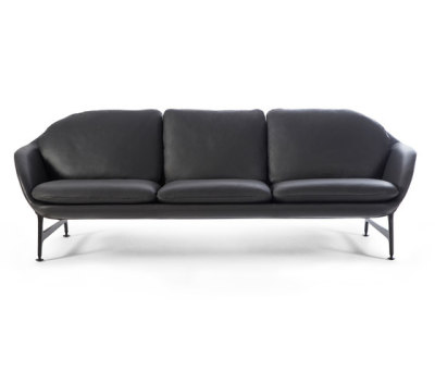 399 Vico 3 Seater Sofa Leather by Cassina