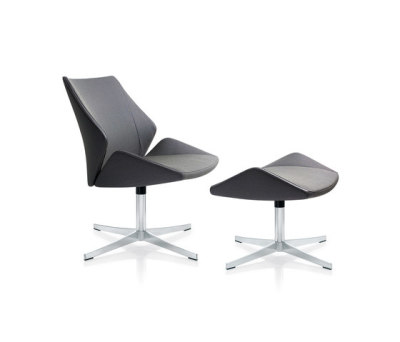 4+ Lounge chair & stool by Züco