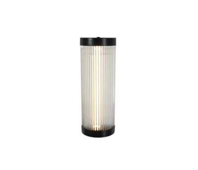 7210 Pillar LED wall light, 40/15cm, Weathered Brass by Davey Lighting Limited