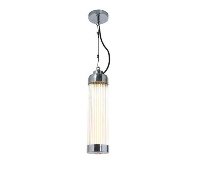 7213 Pillar Pendant Light, Chrome Plated by Davey Lighting Limited