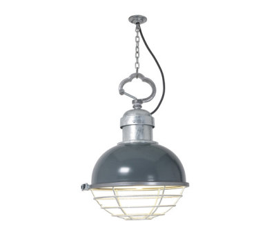 7243 Oceanic Pendant, Basalt Grey by Davey Lighting Limited