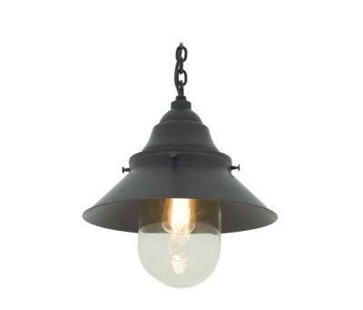 7244 Ship's Large Deck Light,Weathered, Clear Glass by Davey Lighting Limited