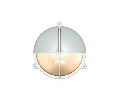 7428 Brass Bulkhead With Eyelid Shield, Chrome Plated by Davey Lighting Limited