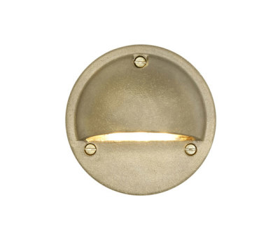 7568 Step or Path Light LED, Brass by Davey Lighting Limited