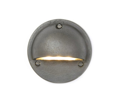 7568 Step or Path Light LED, Weathered Brass by Davey Lighting Limited