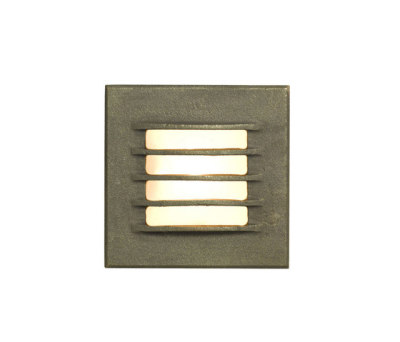7600 Low Voltage Recessed Step Light, Bead Blasted Bronze Weathered by Davey Lighting Limited