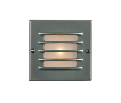 7601 Low Voltage Recessed Step Light, Back Box, Painted Aluminium by Davey Lighting Limited
