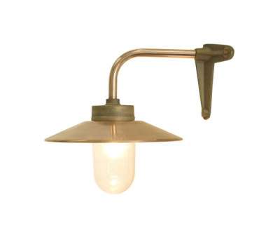 7680 Exterior Bracket Light, Right Angle, Corner, Gunmetal, Clear Glass by Davey Lighting Limited