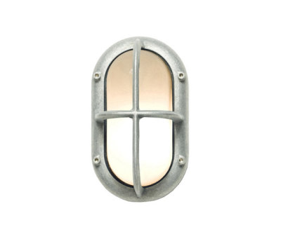 8123 Small Exterior Bulkhead Fitting, Aluminium by Davey Lighting Limited