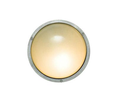 8134 Aluminium Bulkhead Without Guard, E27, Aluminium by Davey Lighting Limited