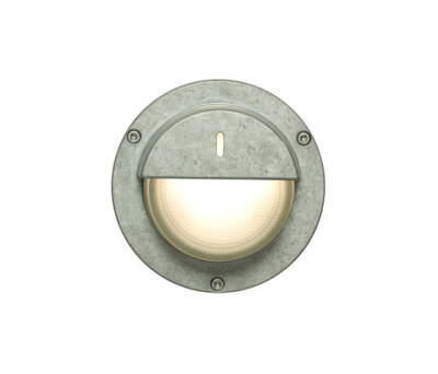 8591 Wall/Ceiling Light, Eyelid Shield, Aluminium by Davey Lighting Limited