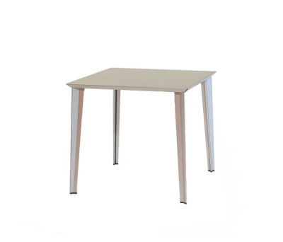 adeco RADAR T15 Aluminium Table by adeco