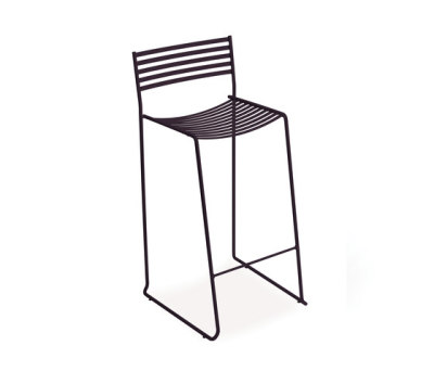 Aero low barstool - set of 2 Black
