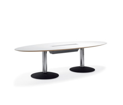 Agenda conference table by Materia