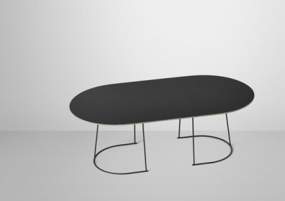 Airy Coffee Table | large Black
