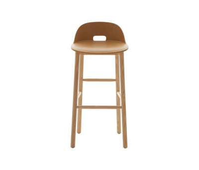 Alfi Barstool low back Sand