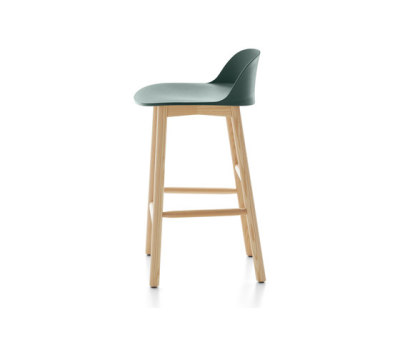 Alfi Counter stool low back Green