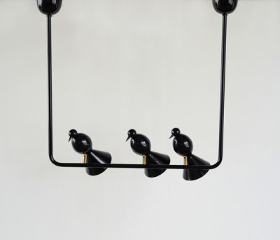 Alouette Ceiling lamp | 3 birds U by Atelier Areti