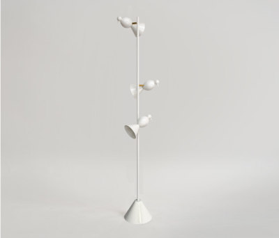 Alouette Standing lamp 3 birds by Atelier Areti