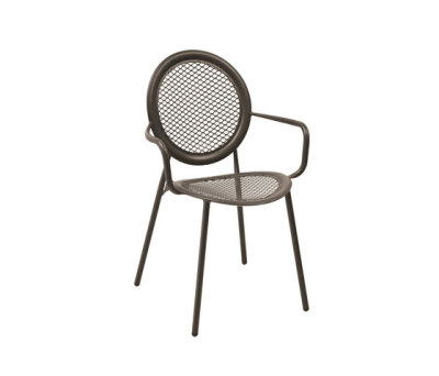 Antonietta Armchair - Set of 4 Aluminium