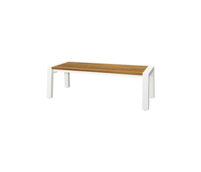 Baia bench 145 cm (post leg) by Mamagreen