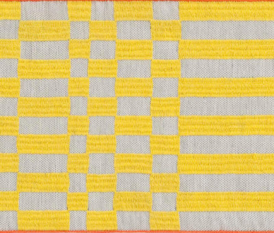 Bandas Single Rug B Yellow 13 by GAN