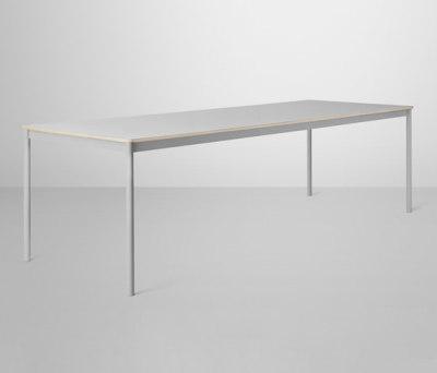 Base Table | large Grey/Grey Laminate/Plywood