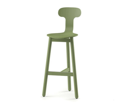 Beech Bar Stool 75 high by DUM