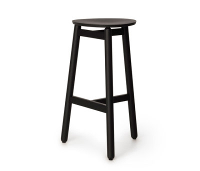 Beech Stool 75 flat by DUM
