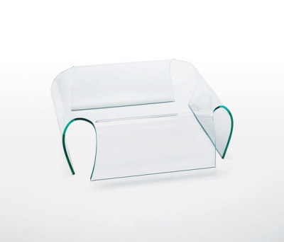 Bent Glass Chair by Glas Italia